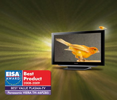 Panasonic VIERA TH-46PZ85 EISA award