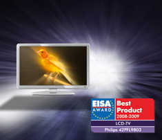 Philips 42PFL9803 EISA award